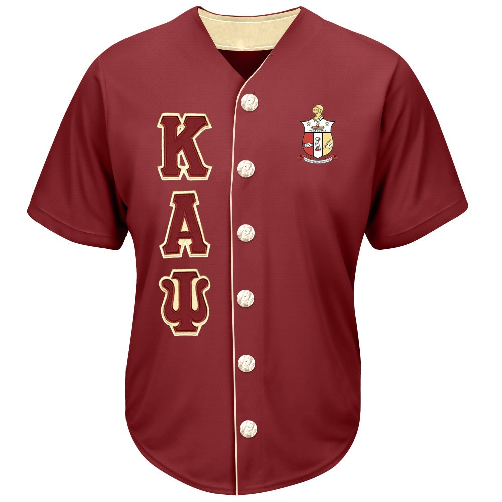Image of Baseball Jersey (Crimson)