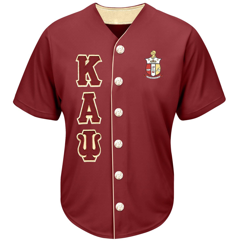 Image of Baseball Jersey (Crimson)