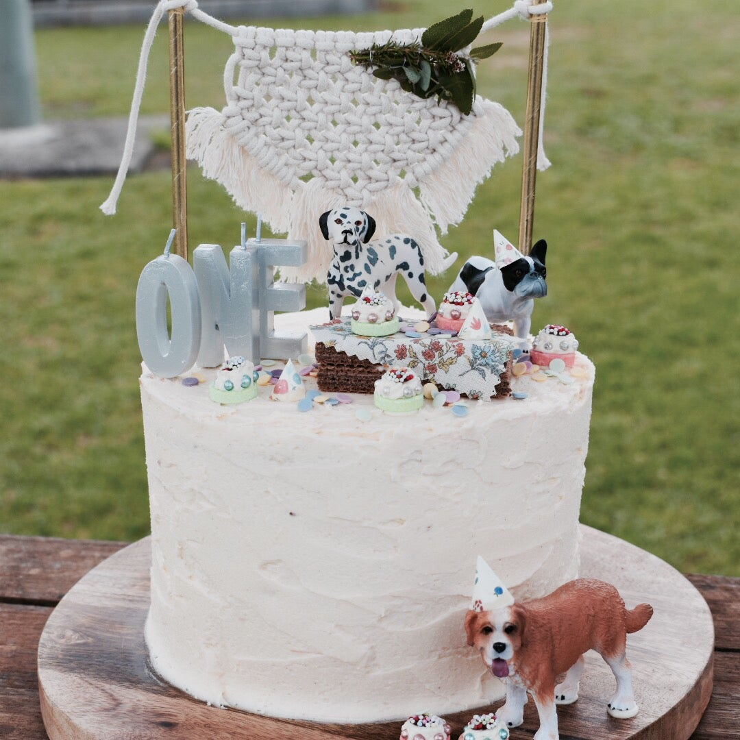 Image of Macrame Cake Toppers