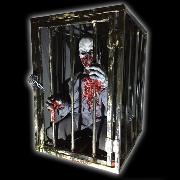 Image of Caged Zombie