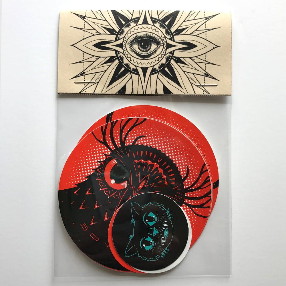 Image of Soto 2018 Sticker Pack (Orange)