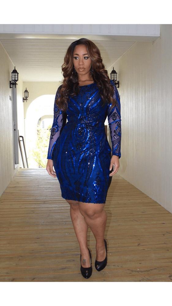 Image of Blue Glam