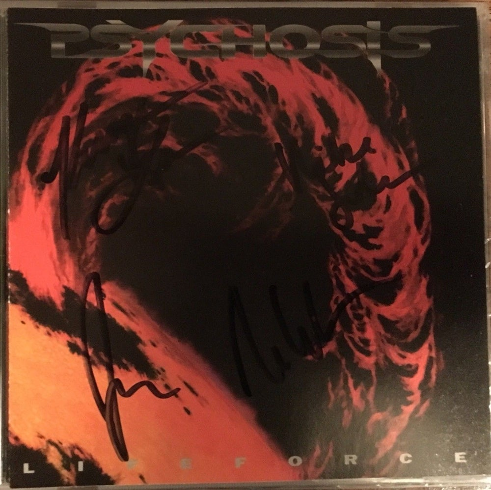 Image of Psychosis - Lifeforce (Autographed CD)