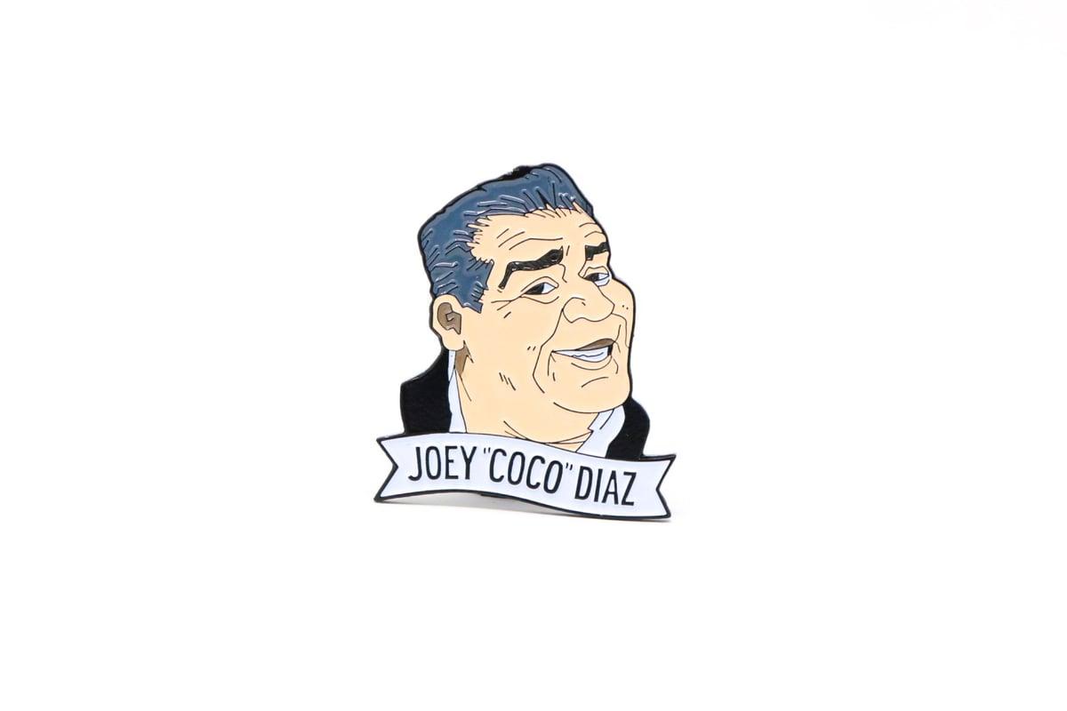 Image of Joey Coco Diaz Enamel Pin