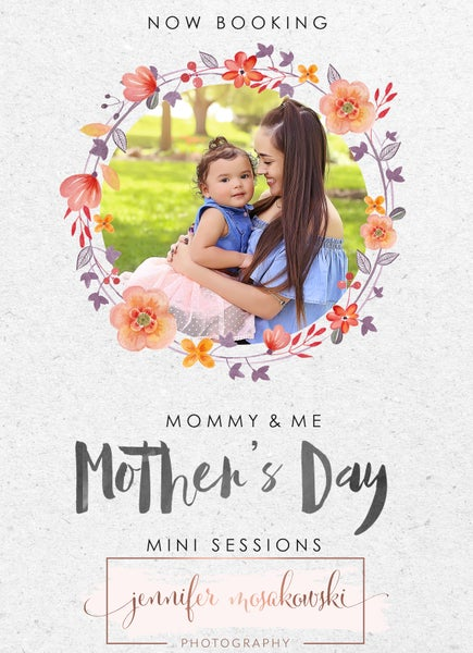 Image of Mommy & Me Mini Session Full Payment