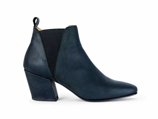 Image of Ivylee Copenhagen Pearl Boot in Black Napa Morocco