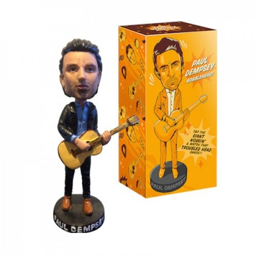 Image of Paul Dempsey bobblehead limited edition.