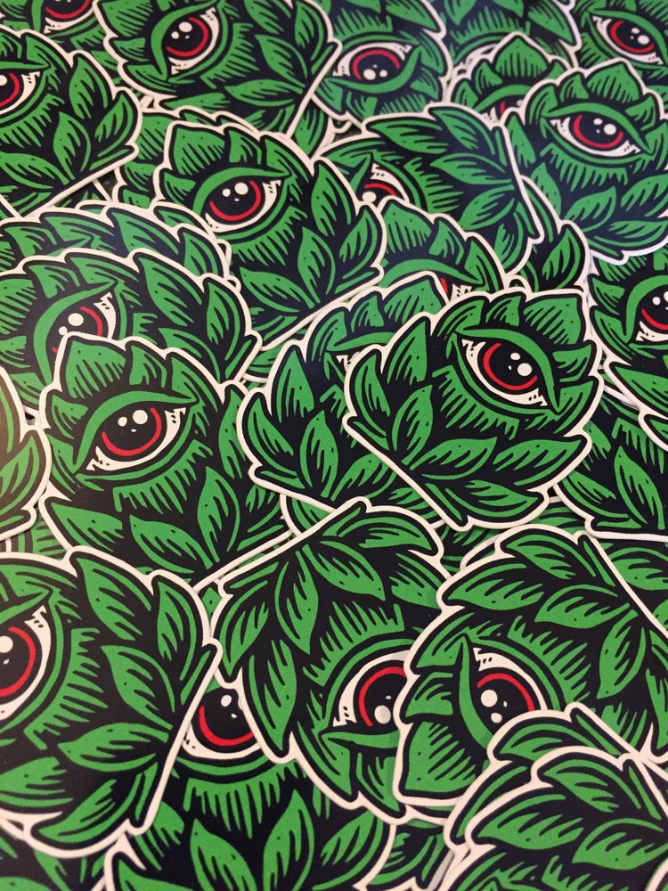 "Image of ""Hop Eye""  sticker"