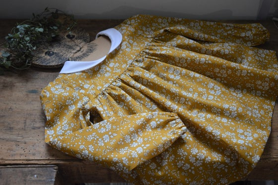 Image of Blouse liberty capel moutarde