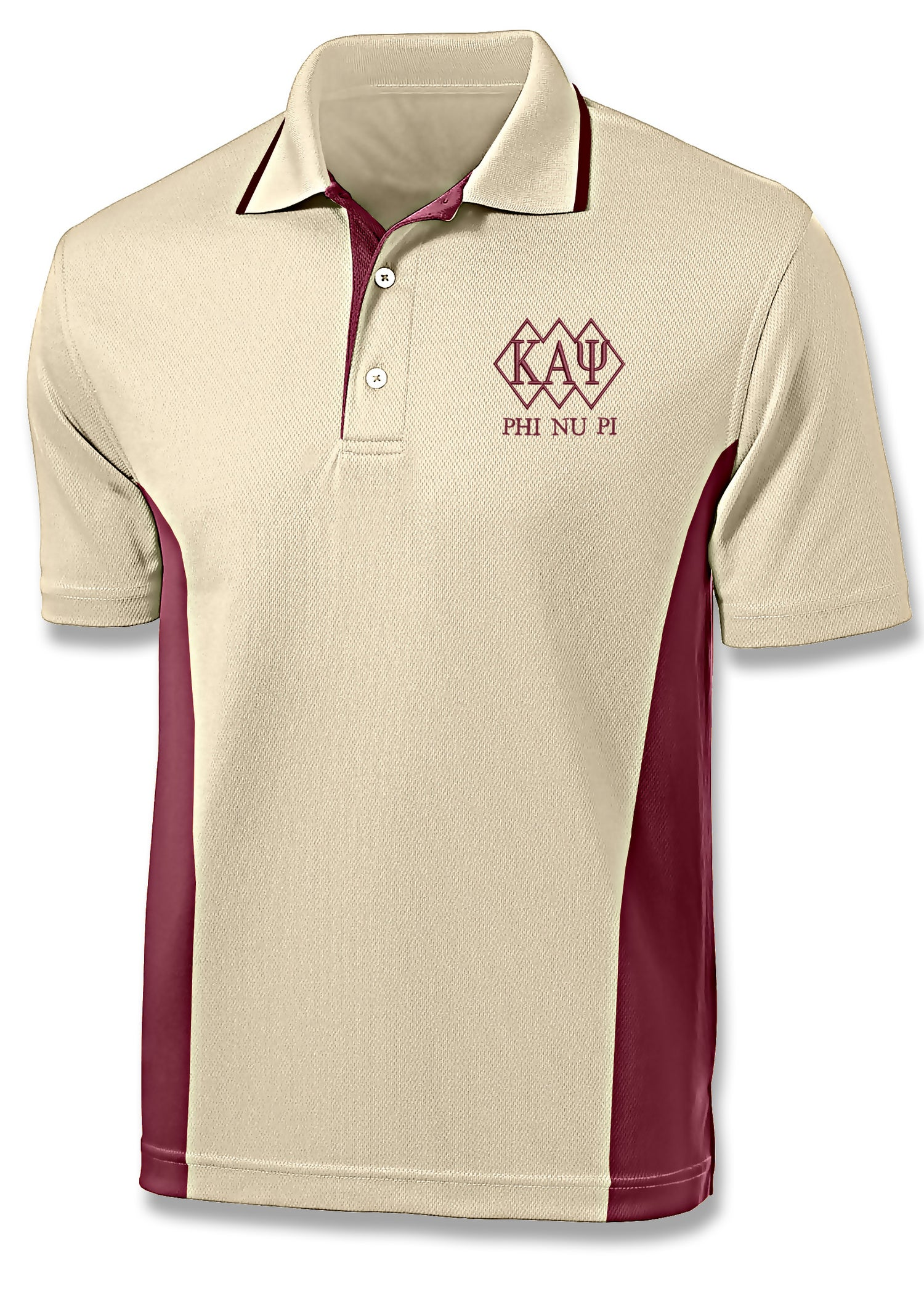 Image of KAΨ 3-Diamond Design Sport Polo