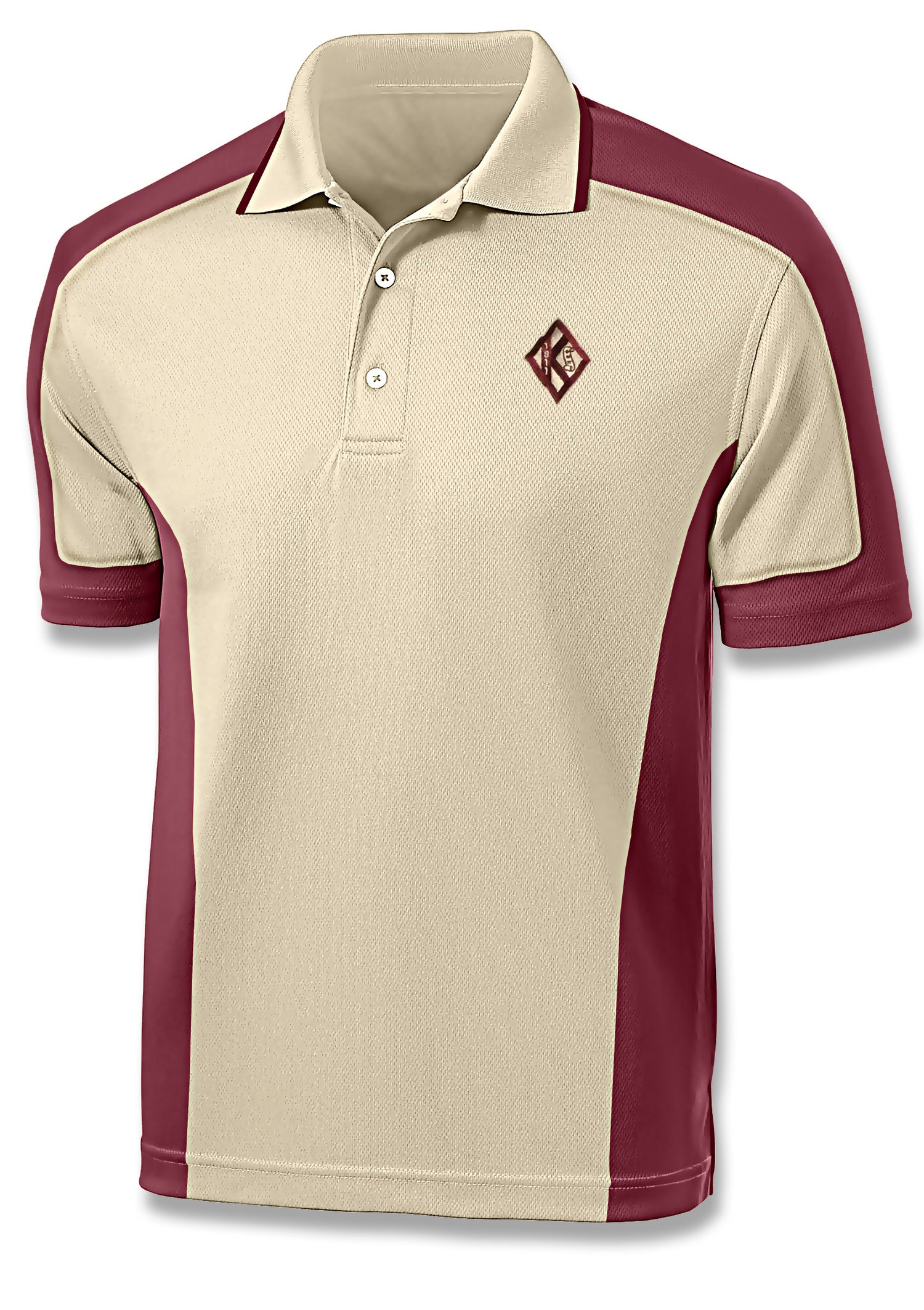 Image of Diamond w/ Scroll Design Sport Polo