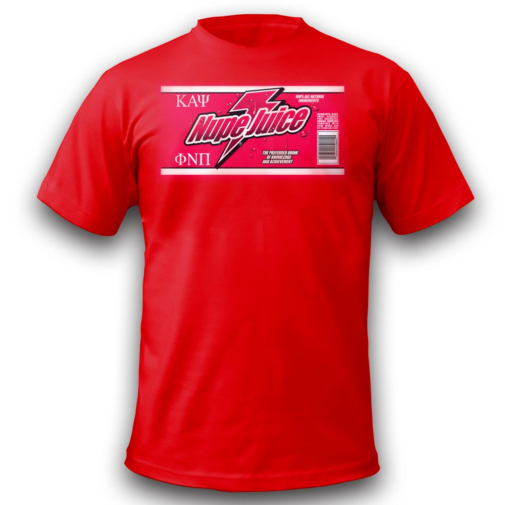 Image of Nupe Juice T-Shirt (Red) !! CLOSEOUT!!