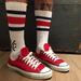 Image of Og 80s Made in USA Handmade Screenprinted Socks