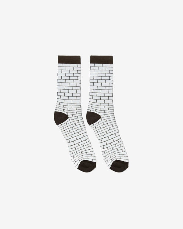 Image of HK Bricks Socks · White