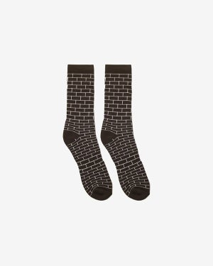Image of HK Bricks Socks · Black