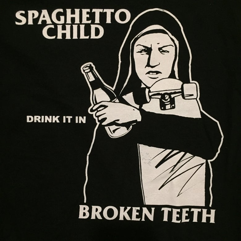 "Image of SpaghettoChild ""Drink it in"" Tee"