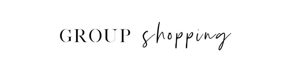 Image of Group Shopping