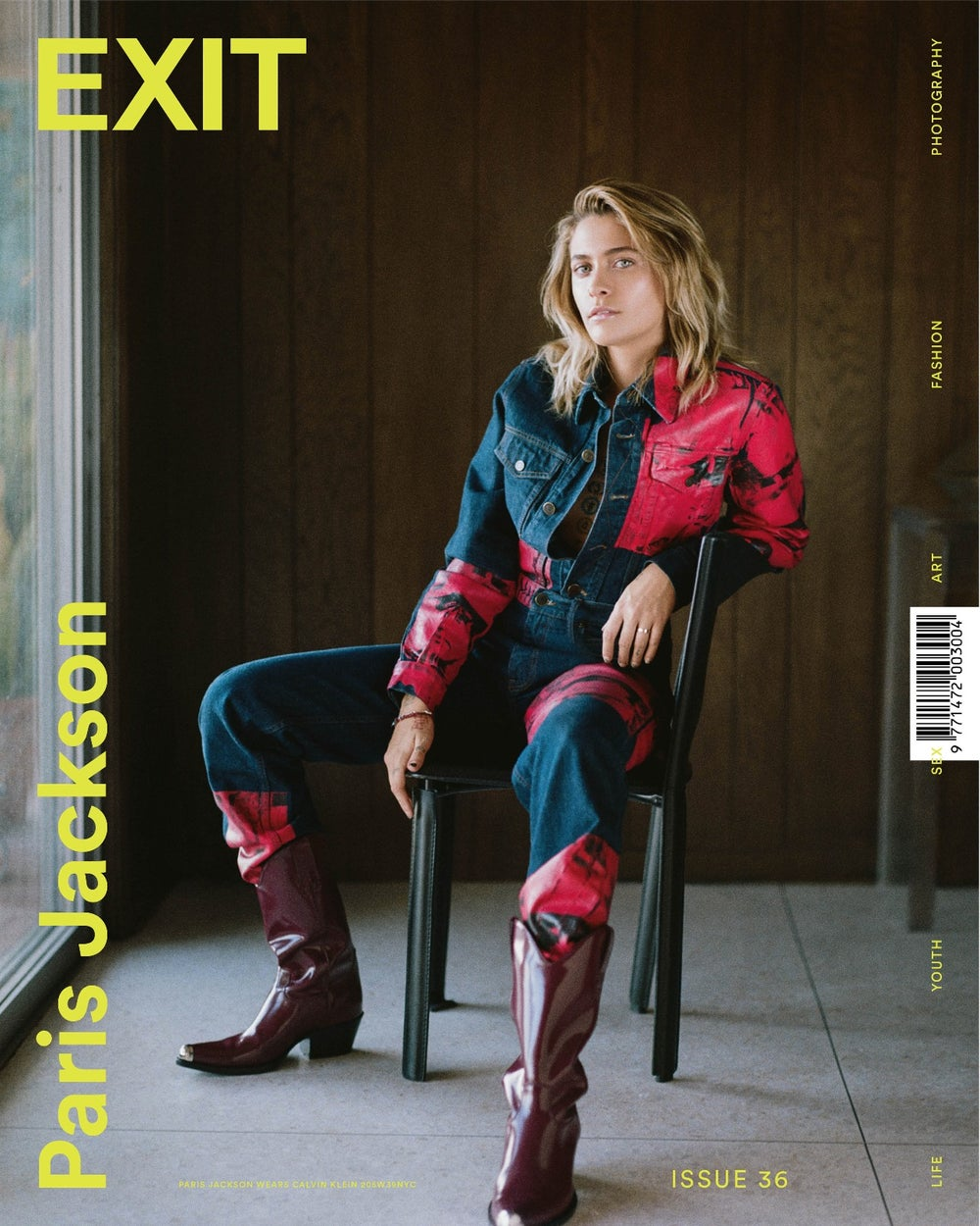 Image of EXIT ISSUE 36 SPRING SUMMER 2018 PARIS JACKSON COVER ***SOLD OUT***