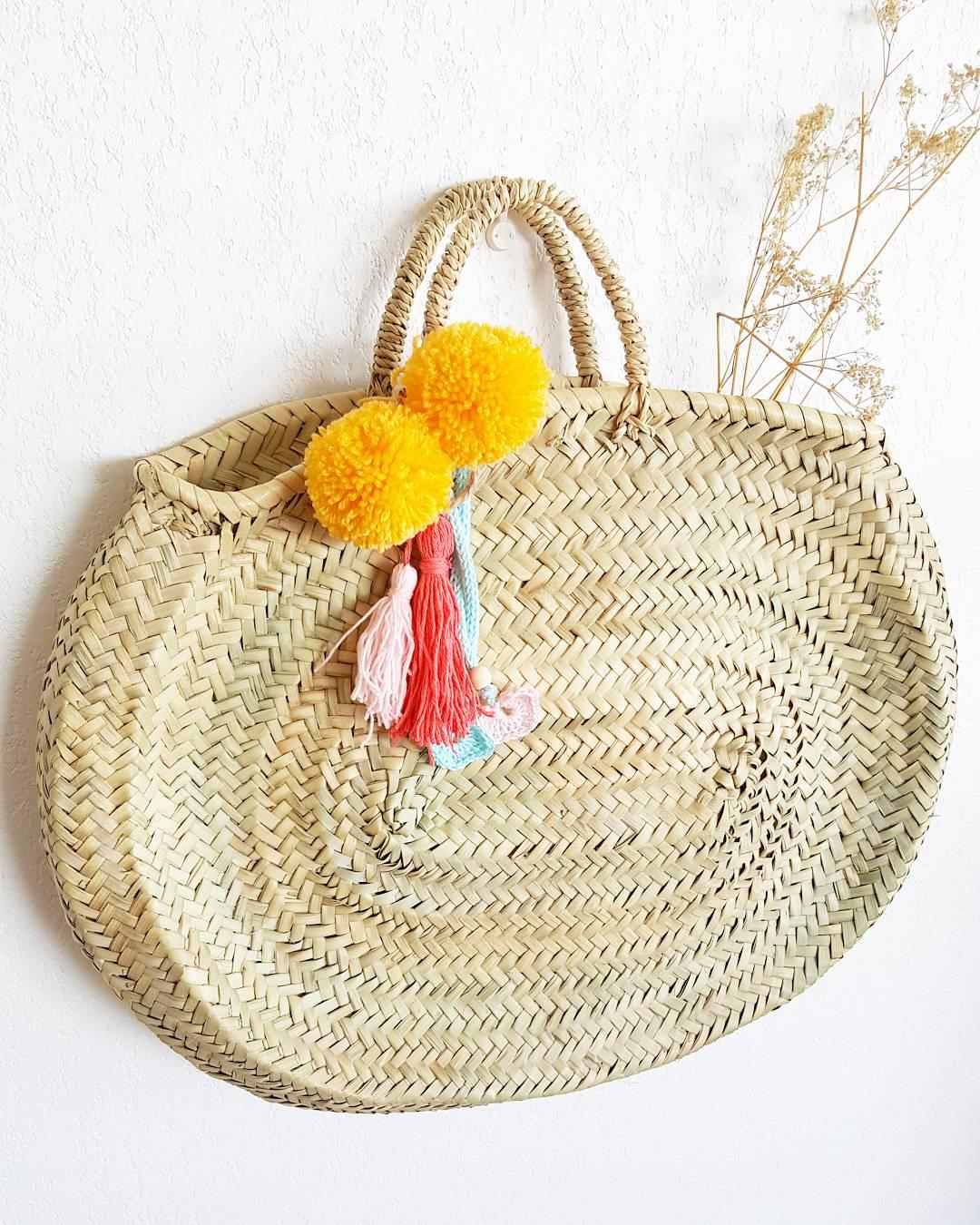 Image of Capazo Ovalado / Oval Beach Bag