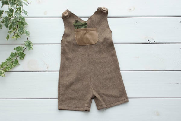 Image of Richard romper/ three sizes
