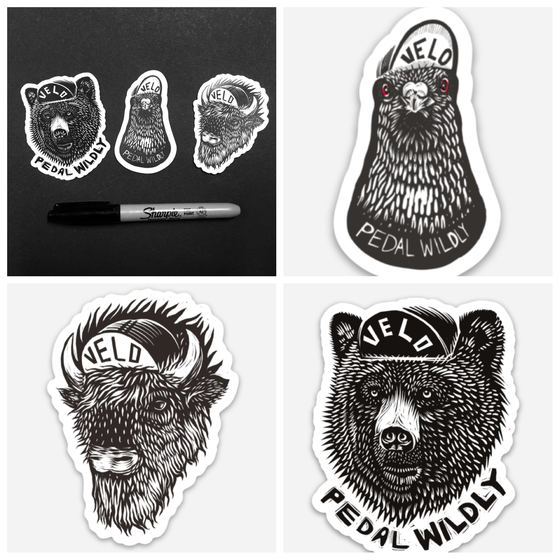Image of 3 Stickers