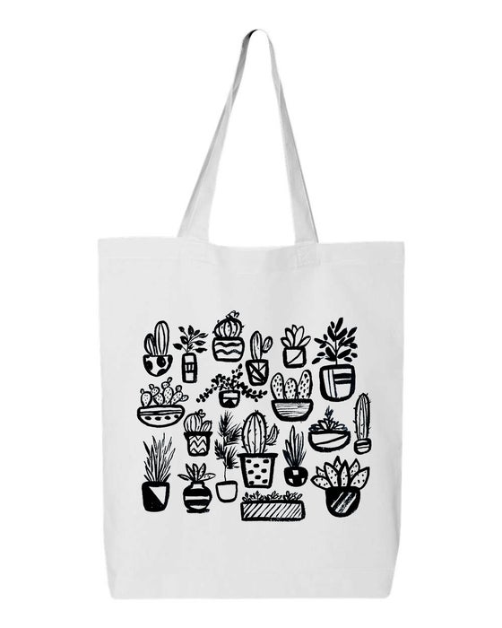 Image of Potted plants tote