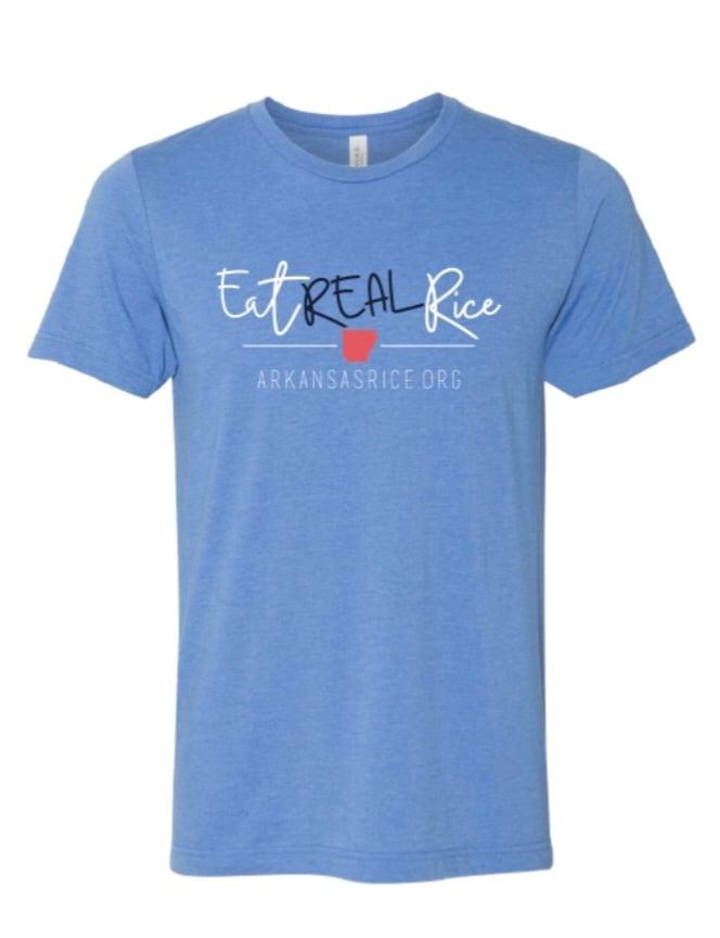 T-Shirt - Eat Real Rice shirt