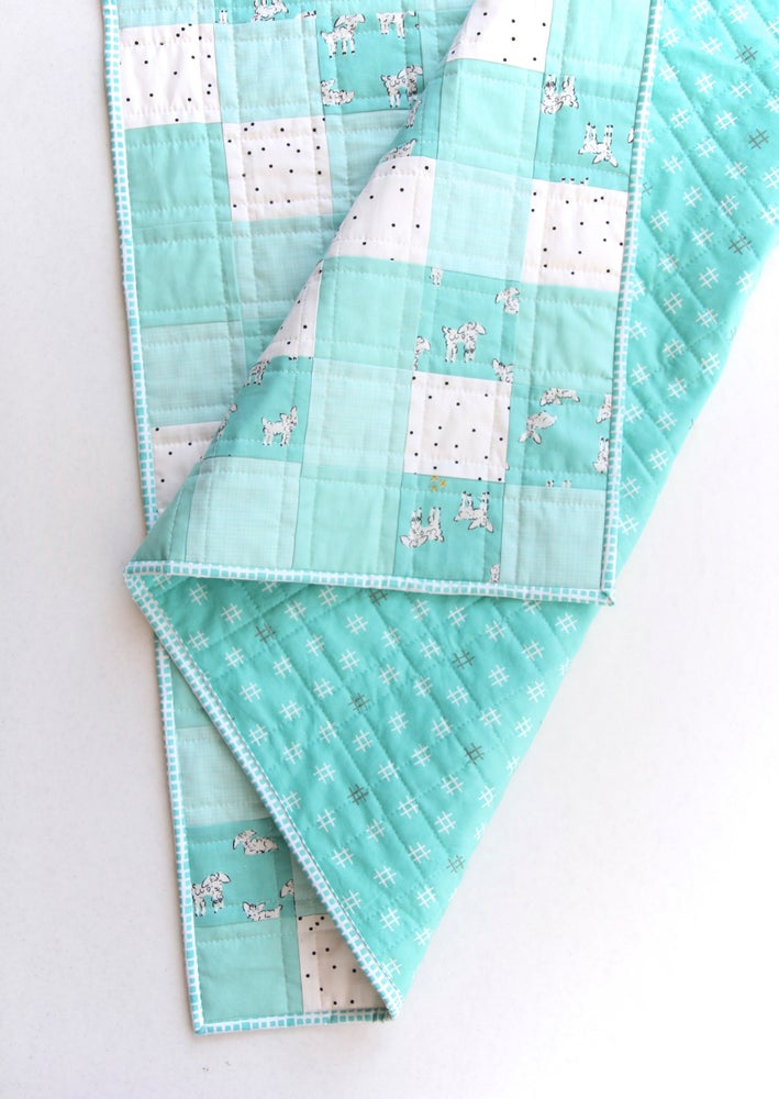 Image of Little Lamb Baby Quilt