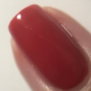 Image of Brick your Heels – an orange based red crème