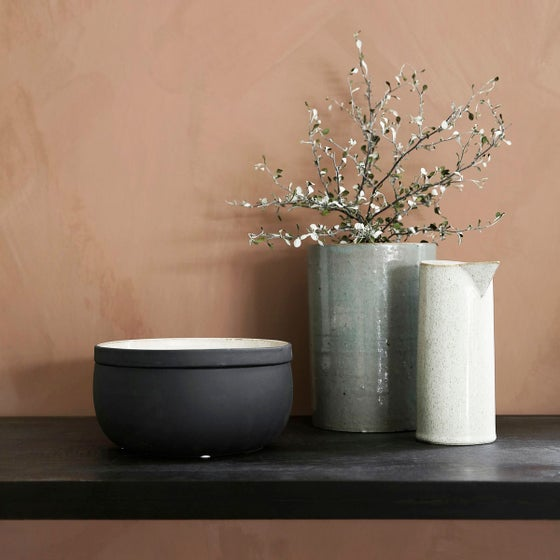Image of Large Ivy storage pot with lid - 40% off