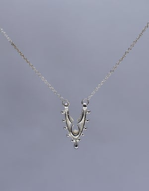 "Image of Small ""Fragment"" Arch Pendant Necklace"