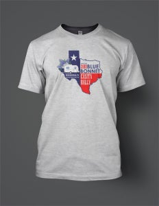 Image of 2018 Bluebonnet Rally T-Shirt (front print only)