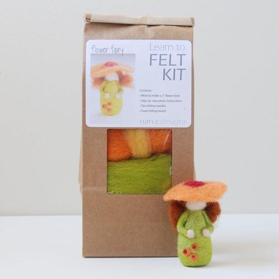 Image of Flower Fairy - Needle Felting Kit
