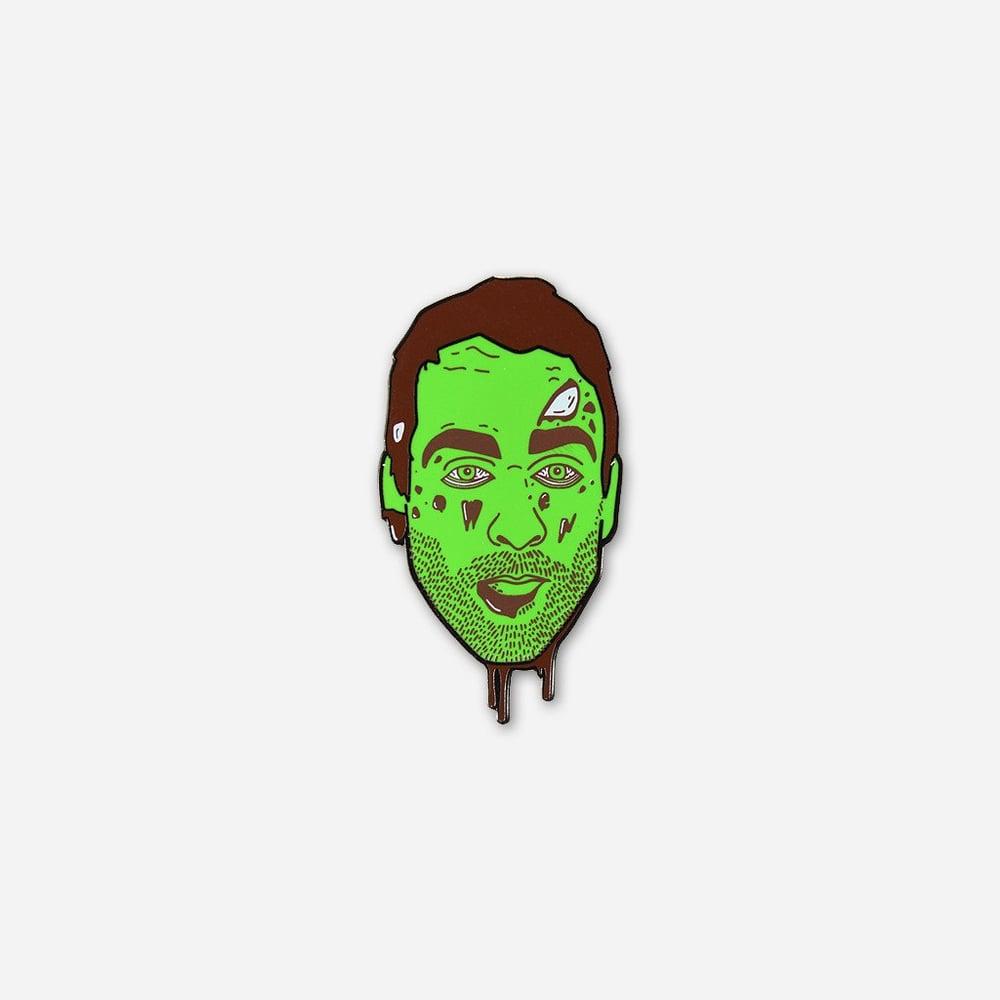 Zombie Mike Enamel Pin