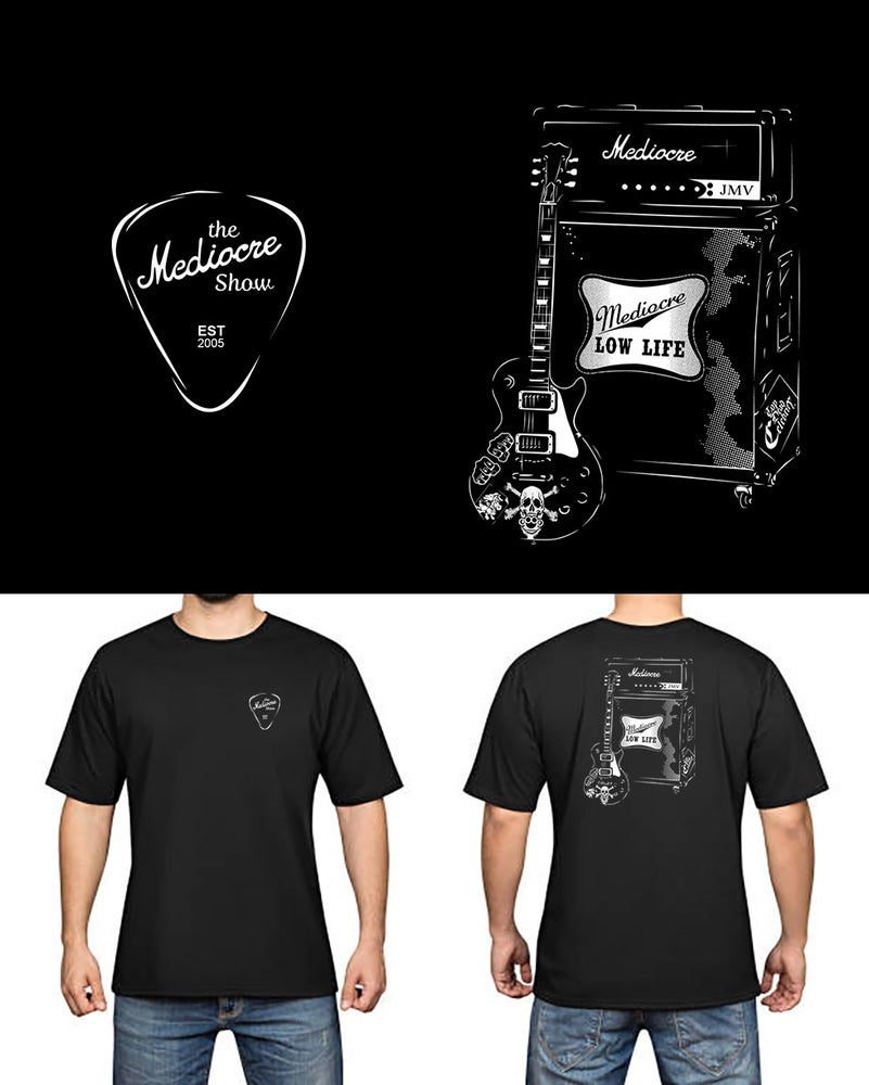 Image of Mediocre Rock Legend shirt preorder