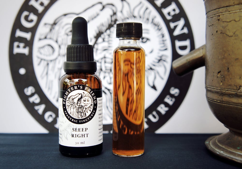 Image of SLEEP RIGHT BLEND - Fighter's Friend spagyric tincture