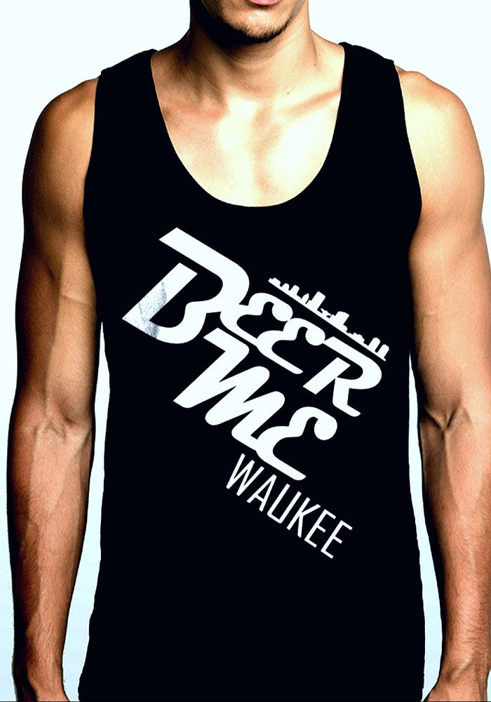 Image of Beer Me. Waukee Mens Tank