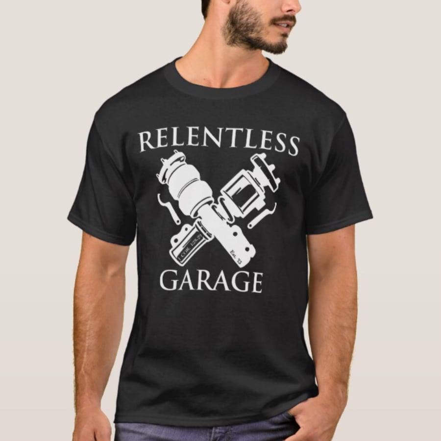 """Image of New!!! """"Relentless Garage"""" Tee"""