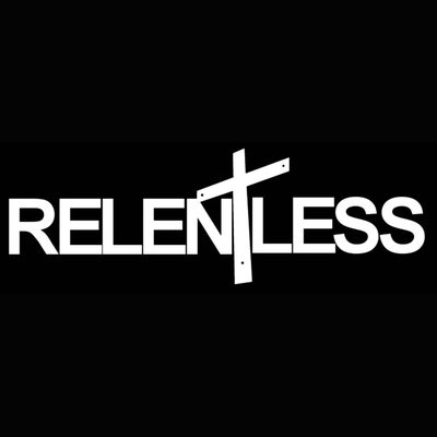 Image of Relentless Windshield Banner