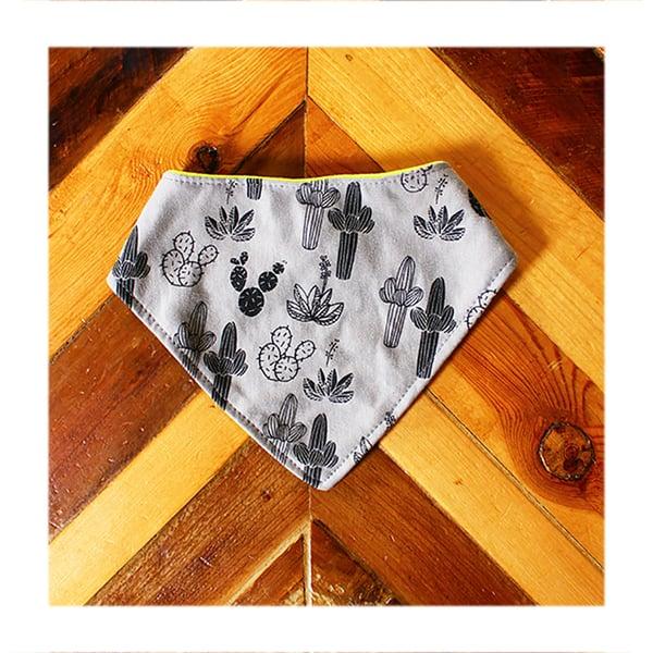 Image of Cacti ) Bandana Bib
