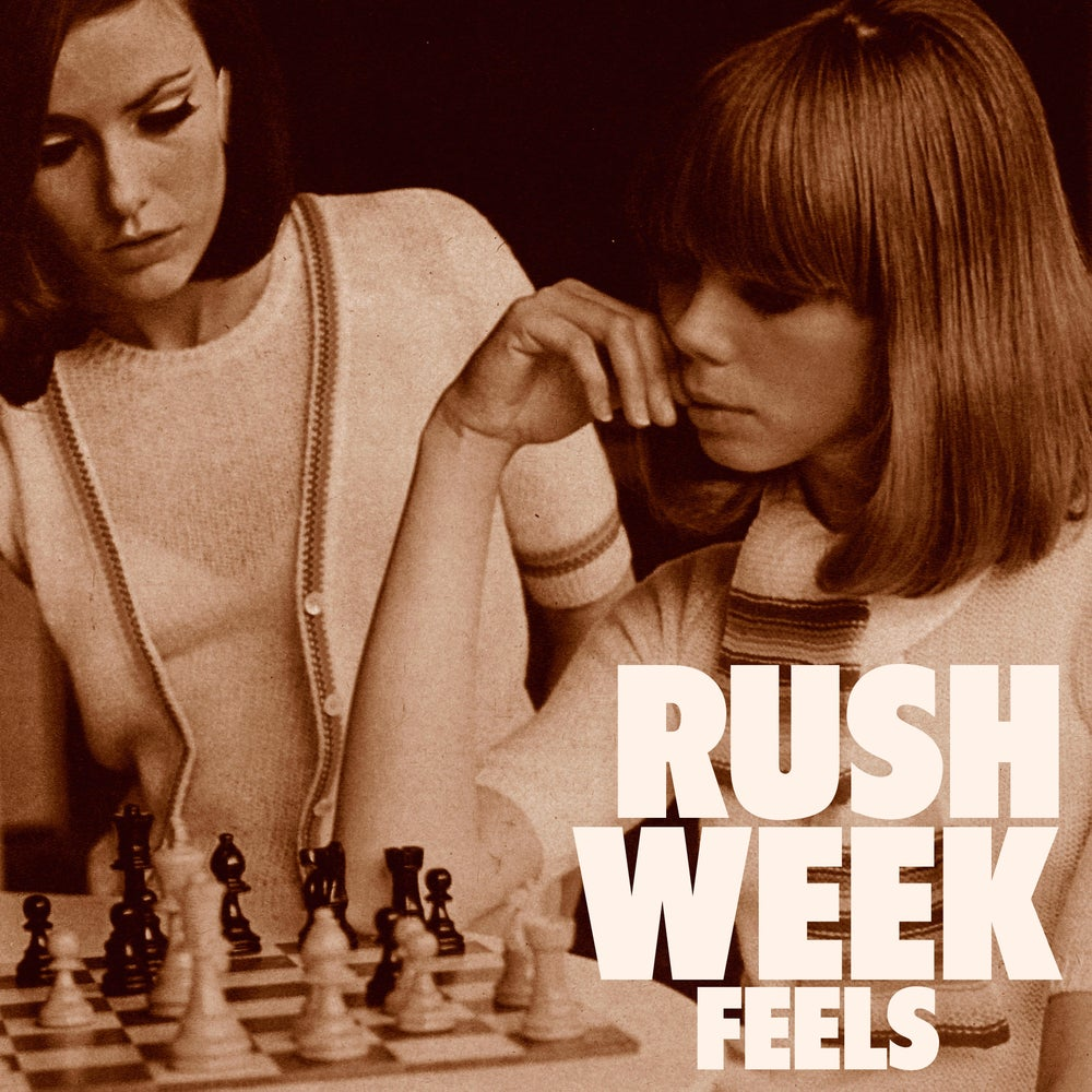 "Image of RUSH WEEK - Feels (Limited edition white 12"" LP or CD Digipak)"
