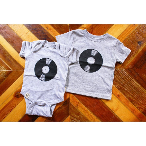 Image of Records ) Infant Bodysuit / Toddler Tee