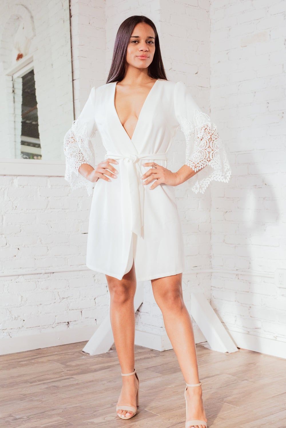 Image of 'Elassona' Wrap Dress
