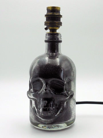 Image of LIMITED EDITION Skull Bottle Lamp
