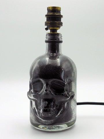 Image of LIMITED EDITION Skull Bottle Lamp