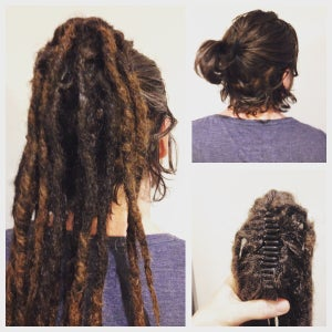 Image of Instant Dreads! Clip-in dreadlock Ponytail