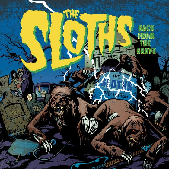 "Image of THE SLOTHS ""Back From The Grave"" 2018 PRE ORDER OUT ON 4.5.2018!!!"