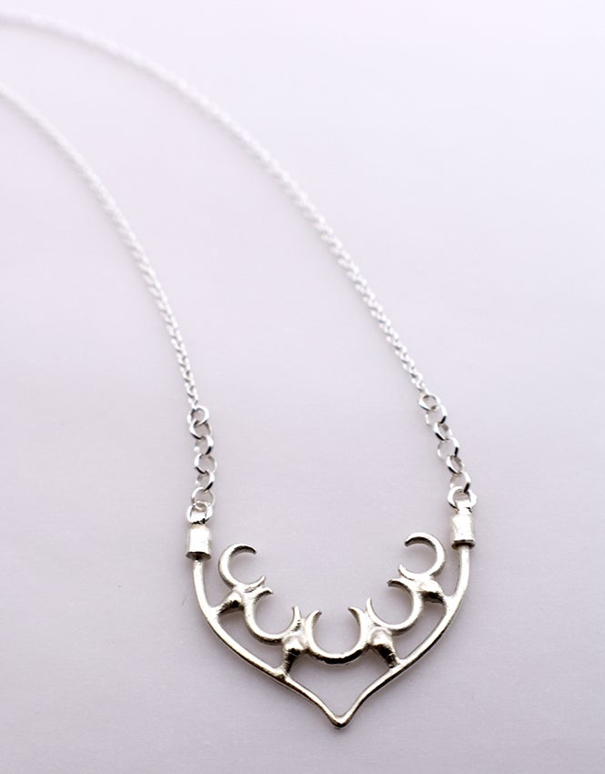 "Image of Medium ""Fragment"" Arch Pendant Necklace"