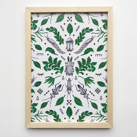 Image of Orienteering insects small print