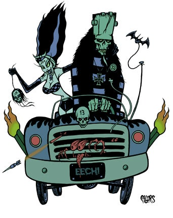 Image of VOODOO STEINS JOY RIDE - STICKER